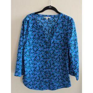 41 Hawthorn Stitch Fix Floral Button Down Shirt M